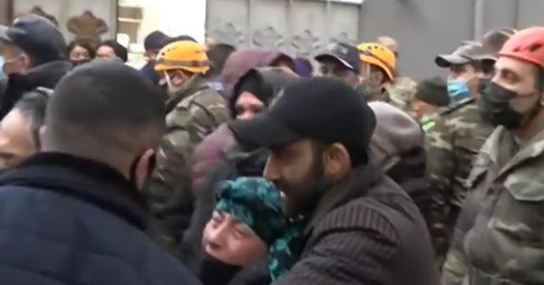 Dağıntılar altından 9 yaşlı Fatimənin meyiti çıxarıldı – VİDEO